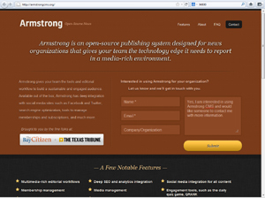 Armstrong CMS project