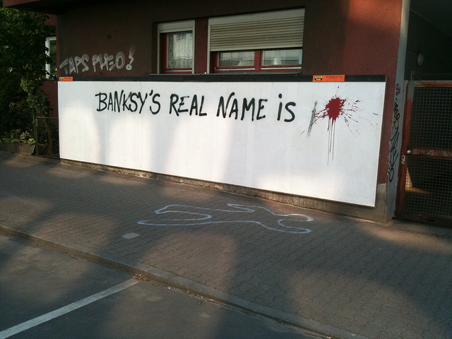 Banksy real name