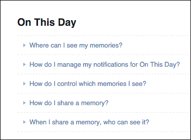 Facebook on this day